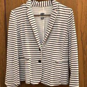 Old Navy Striped Women's Blazer